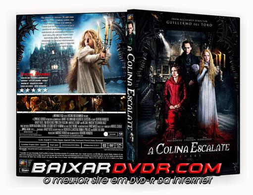 A COLINA ESCARLATE (2016) DUAL AUDIO DVD-R OFICIAL