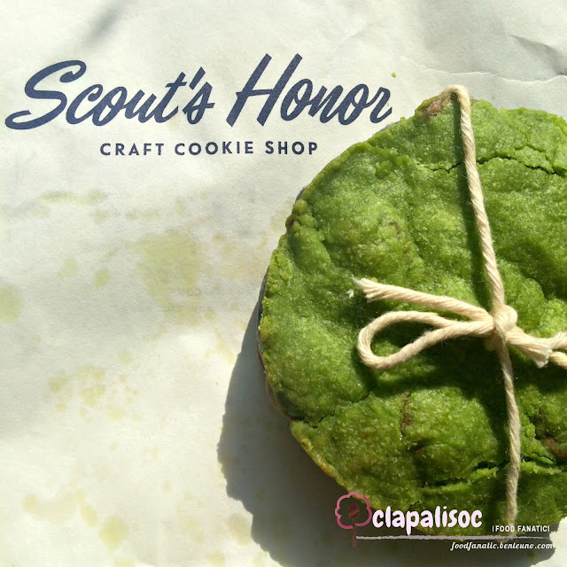 Matcha and Black Sesame Cookie from Scout's Honor