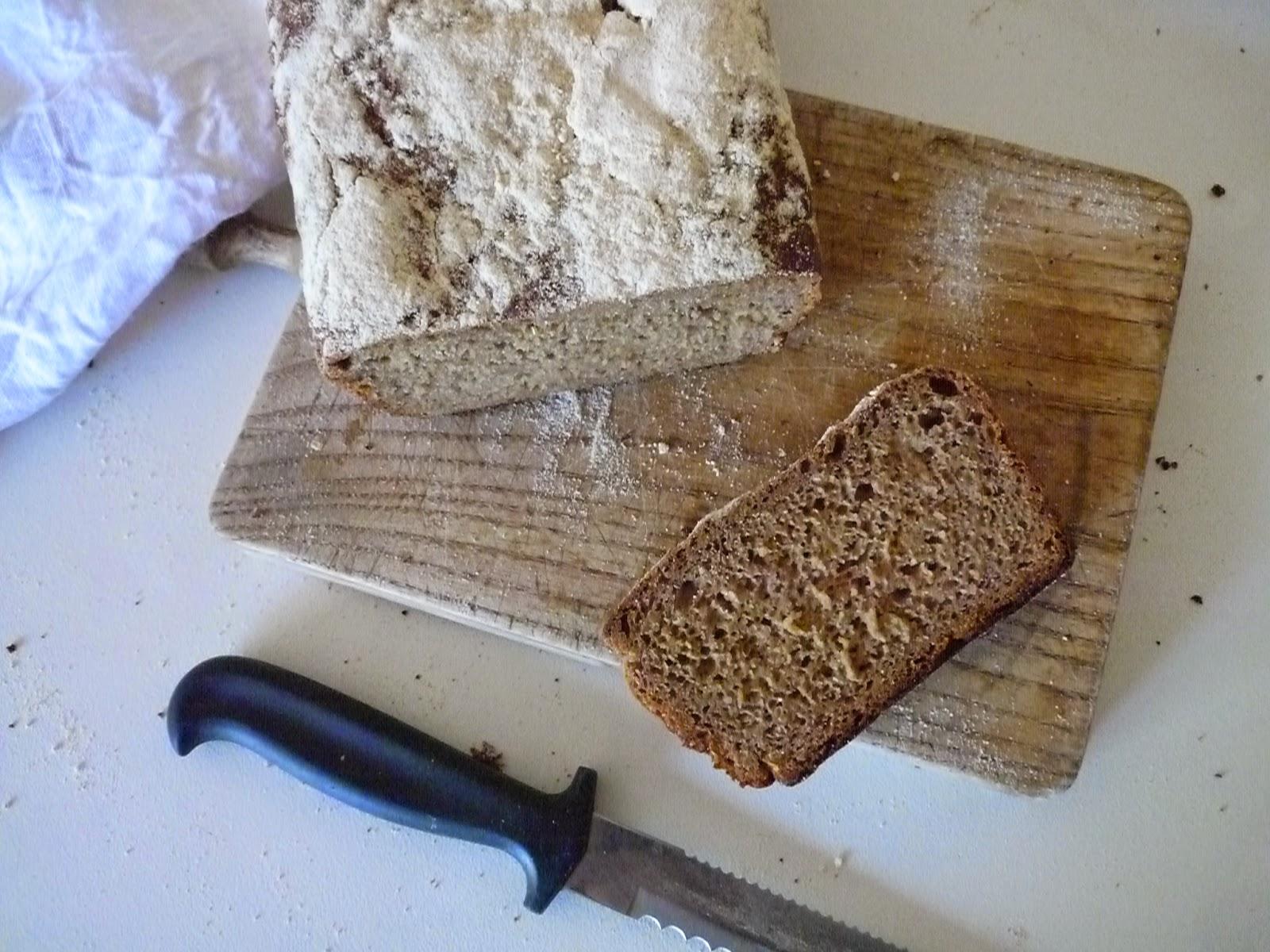pan de molde centeno