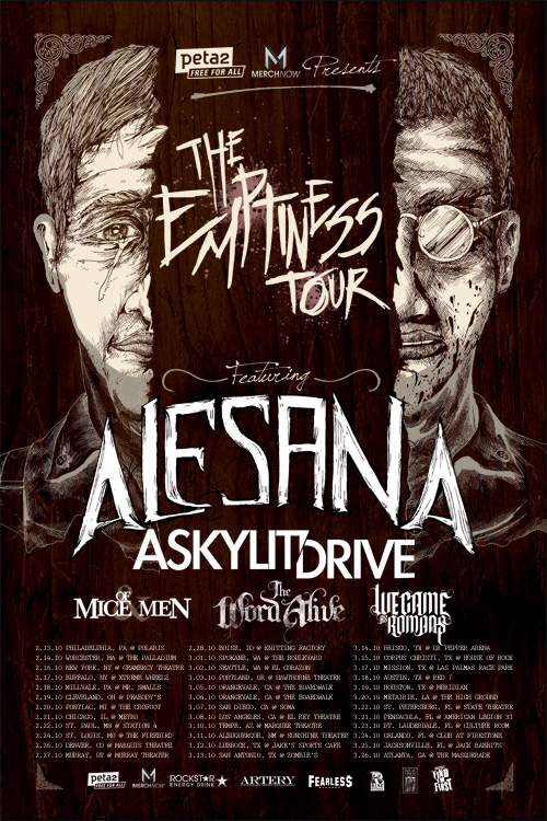 Alesana Emptiness Cover Front