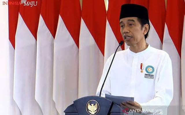 Pesan Jokowi di Tengah Pandemi: Tak Boleh Lupakan Zikir dan Taubat