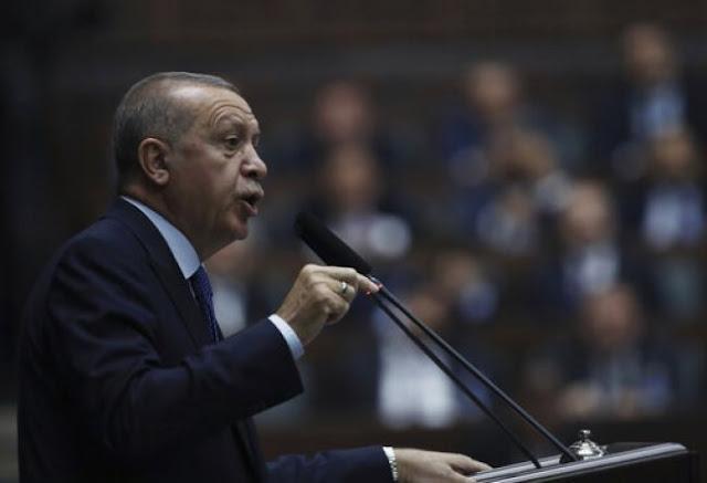 Ερντογάν: Η ασφαλής ζώνη περιλαμβάνει Κομπάνι και Μανμπίτζ
