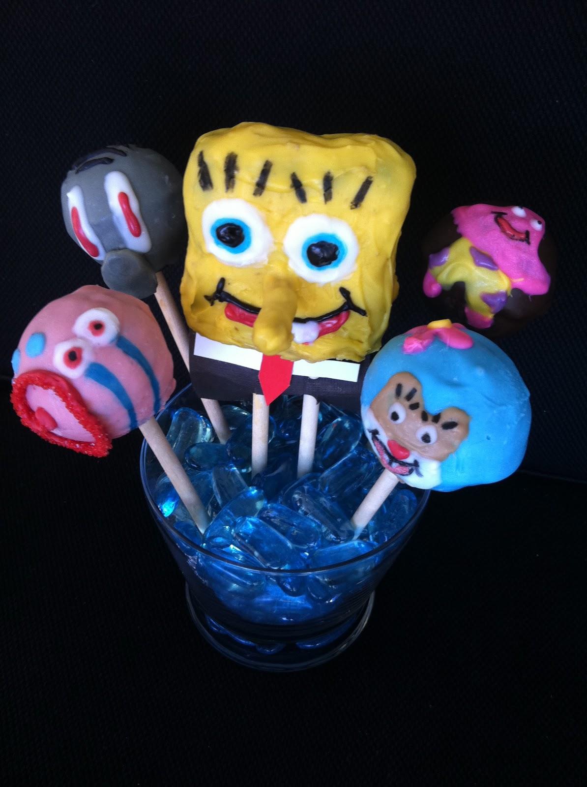 Cake Pop Queens Spongebob Cake Pops