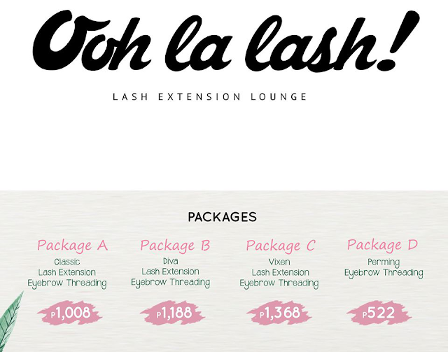Ooh La Lash! Packages