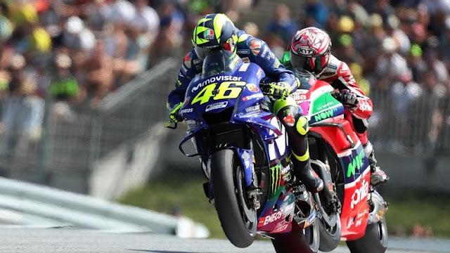 Rossi Penuh Derita di MotoGP Austria, tapi Mencoba Enjoy