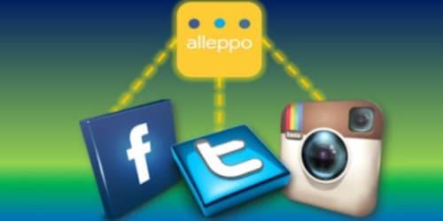 تحميل تطبيق لتشغيل (الفيس بوك – تويتر – انستجرام) فى شاشة واحدة Alleppolite