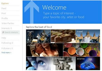 Microsoft lo intenta otra vez con su red social So.cl 1