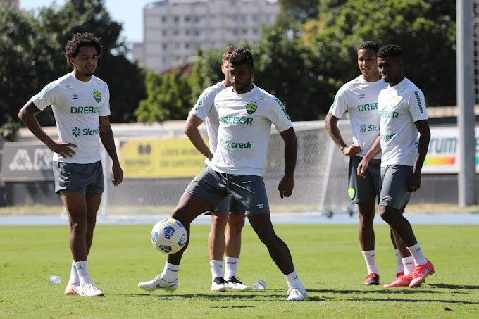 Cuiabá finaliza trabalhos para enfrentar o Fluminense
