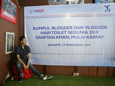 Acara Kumpul Blogger dan Vlogger dalam Hari Toilet Sedunia 2019