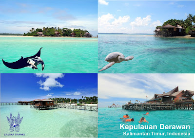 Kepulauan Derawan - Open Trip Long Weekend Derawan Tour Package - SALIKA