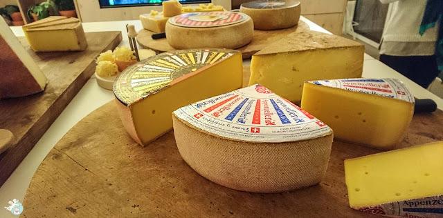 Schweizer Käse Sorten