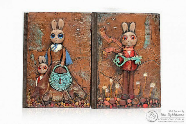 agenda con diseño de un conejo