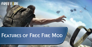 Garena free fire mod apk features