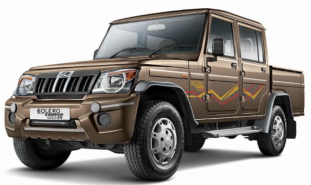 Mahindra bolero camapre gold ZX varrient launch in india.