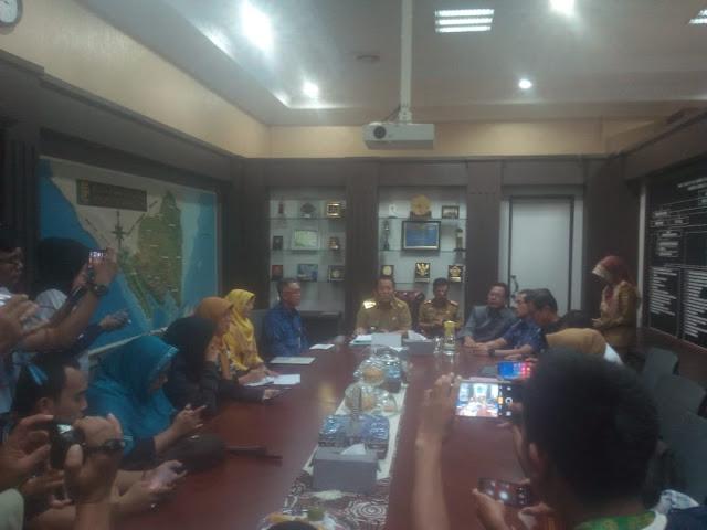 Kedepan, Arinal menginginkan Bank Lampung sejajar dengan Bank Jatim dan Bank Jabar.