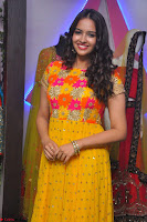 Pujitha in Yellow Ethnic Salawr Suit Stunning Beauty Darshakudu Movie actress Pujitha at a saree store Launch ~ Celebrities Galleries 030.jpg