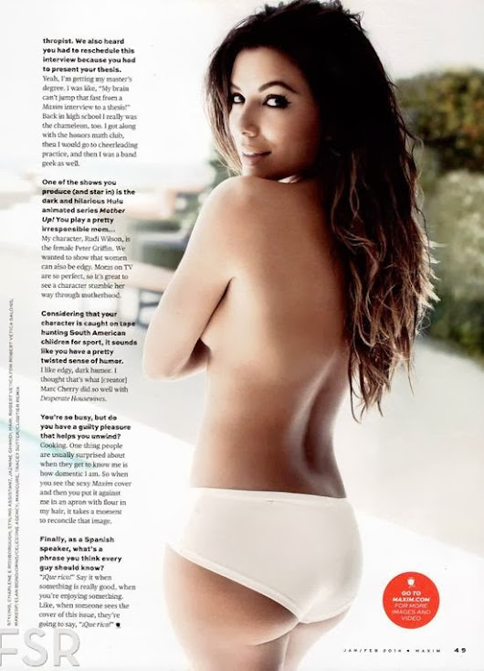 Topless Eva Longoria Will Make You Want More