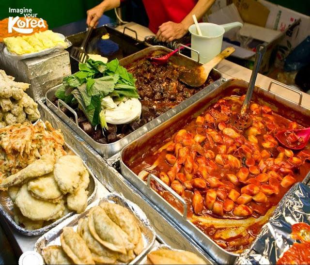 Hàn Quốc nổi tiếng với những món ăn dường phố cực hấp dẫn