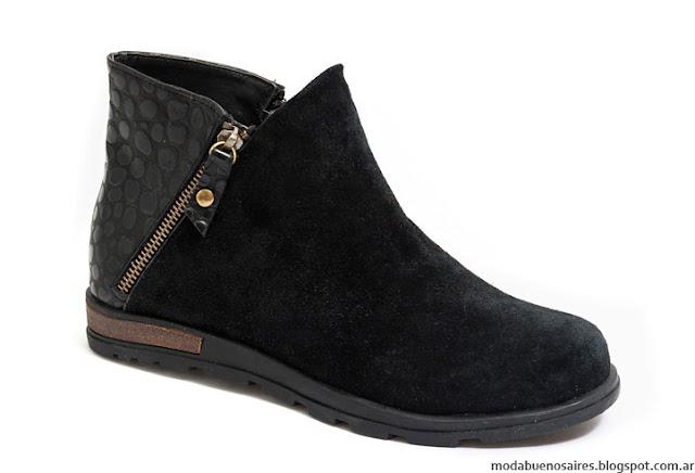 Botas y botinetas invierno 2016 Traza Calzados. Moda invierno 2016 botas.