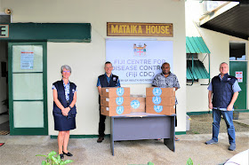 WHO continues its support to Fiji's response to COVID-19
