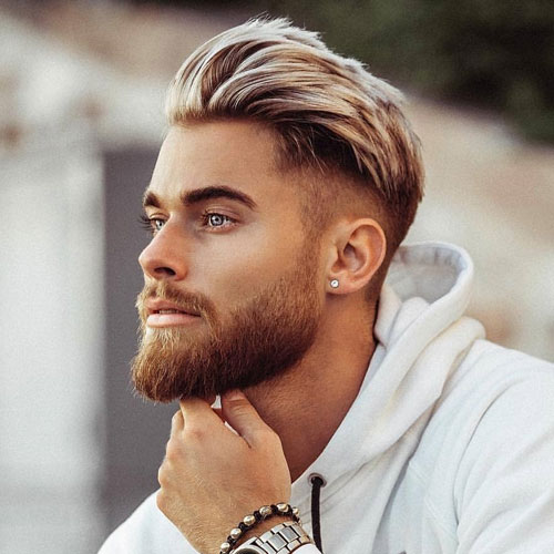 mens haircuts for oblong faces Right Choice for Weddings