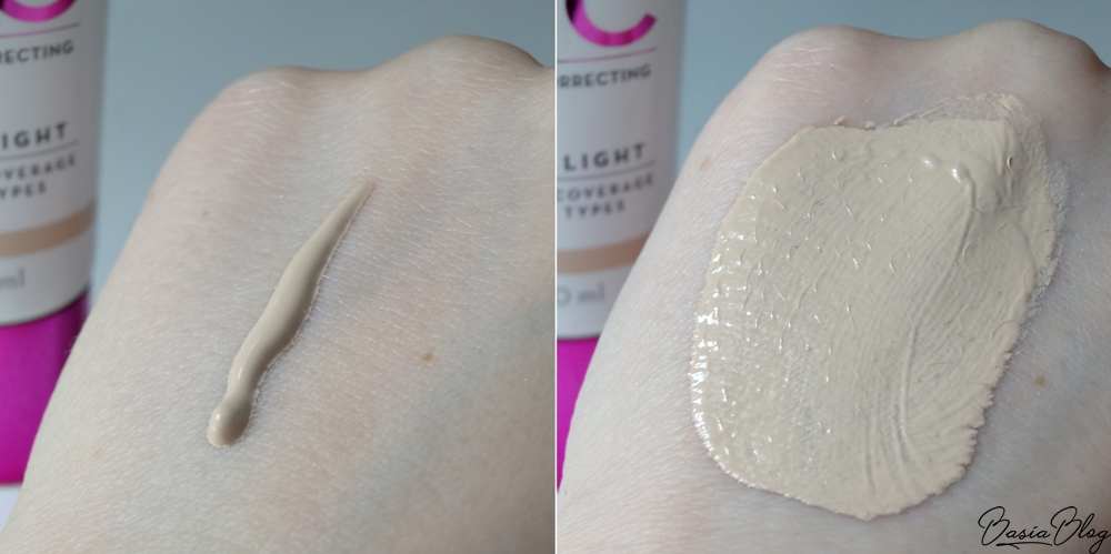 Lumene CC Cream swatch odcień 00 Ultra Light