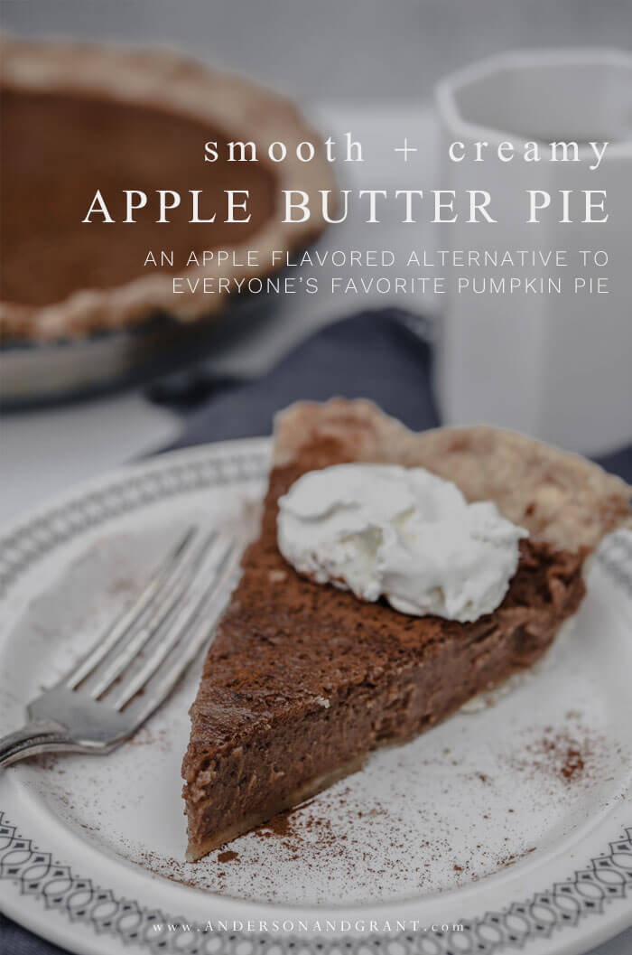 Did you know that you could substitute apple butter for pumpkin puree and make an entirely different flavor of custard pie? Click to learn how easy it is!