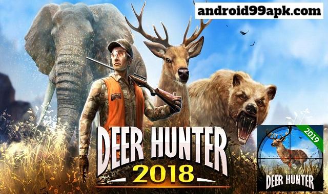 لعبة Deer Hunter 2018 v5.2.3 كاملة بحجم 88 ميجابايت للأندرويد