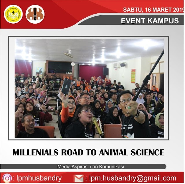 Millenials Road to Animal Science