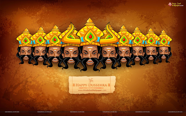 Happy Dussehra Wallpaper 2017
