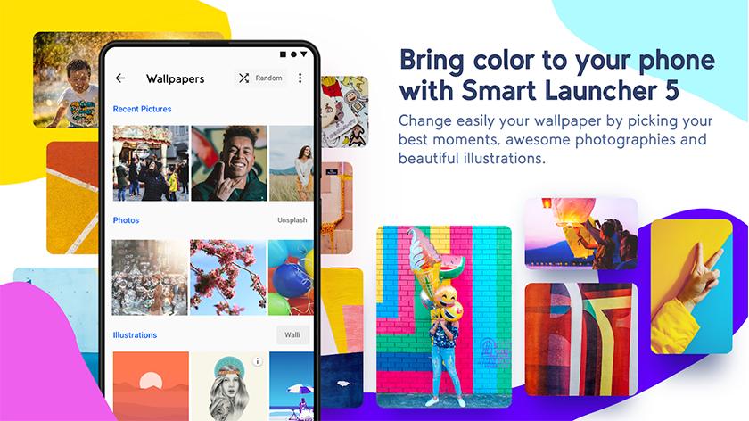 smart launcher 5 pro para android ultima versión