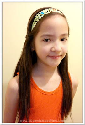 Easy #StraightAStyle hairstyle for back-to-school - Headwrap with skinny braids