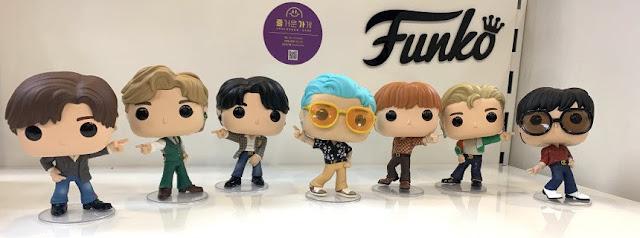 Funko Pop BTS - Versão Dynamite