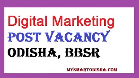 Digital Marketing Job Vacancy SGK India Industrial Services Bhubaneswar, Odisha