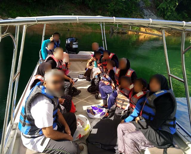 Cuti best di Perak bersama anak-anak