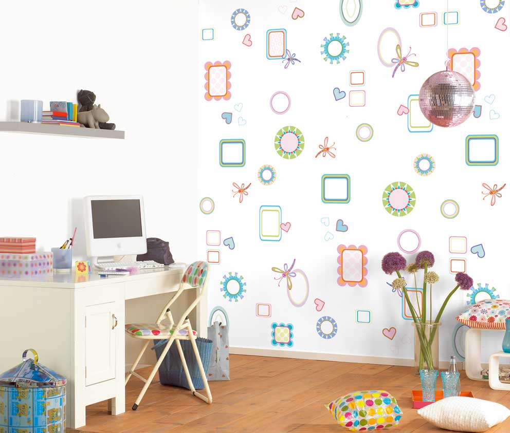 Kids Room Wall Design: Foundation Dezin & Decor...: Kids Room Wall Designing