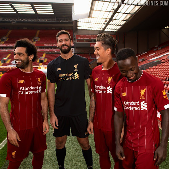 017d368e5 New Balance and Liverpool FC just officially revealed the new Liverpool 19-20  home kit. Although it s already available to pre-order