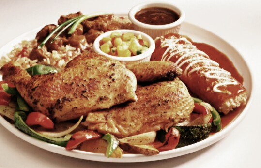 receta mexicana pollo enchilado