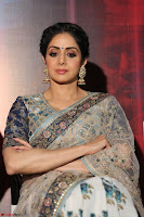 Sri Devi in designer saree stunning beauty at the launch of MOM movie Trailer~  Exclusive 098.JPG