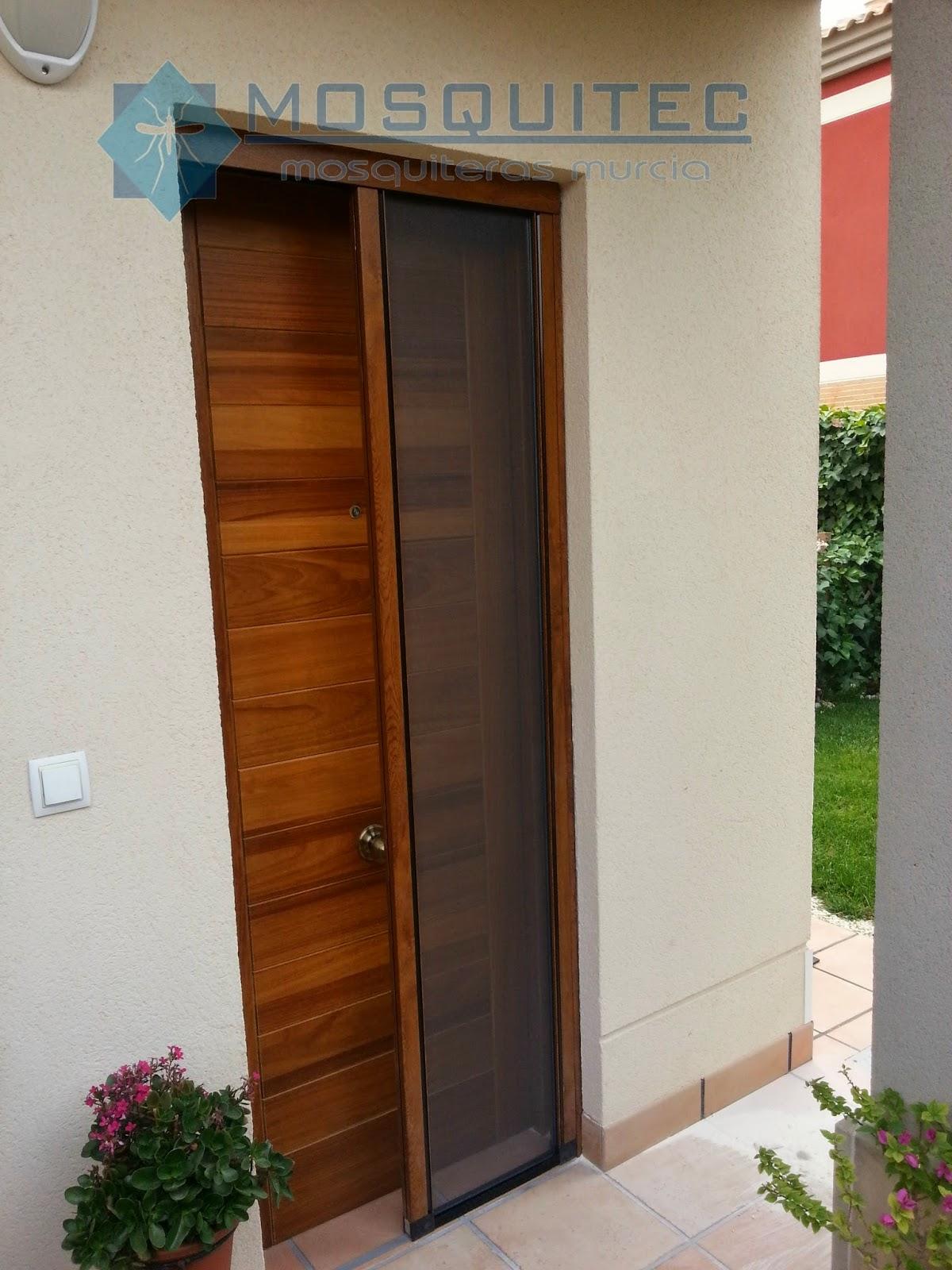 Mosquitera lateral bee mosquiteras murcia - Mosquiteras para puertas ...