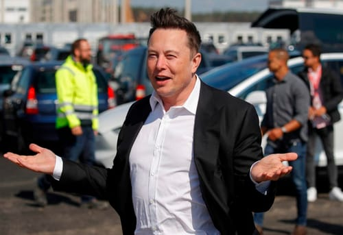 Musk: Tesla could be the biggest company outperforming Apple