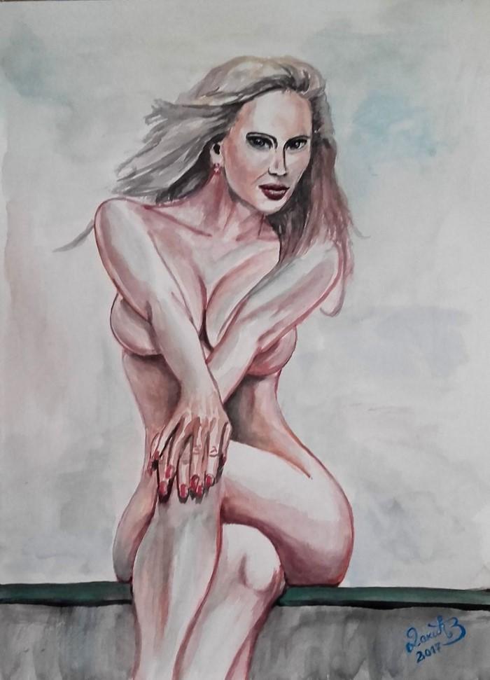 Сербский художник. Zoran Dakic