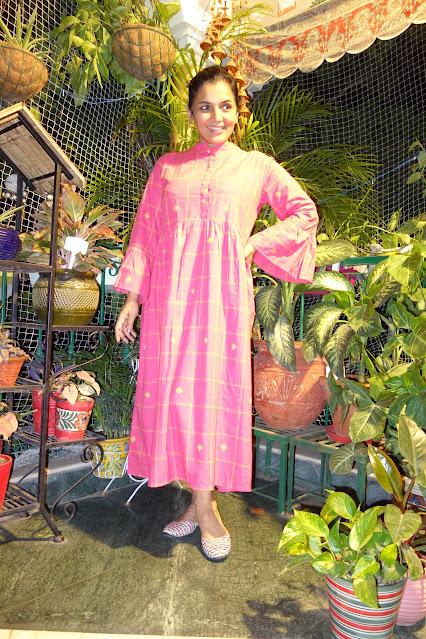 Kanchi cotton dress
