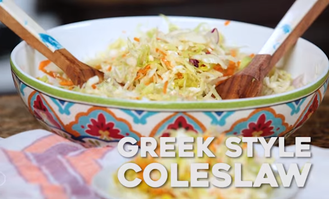 Weight Watchers Recipes Freestyle: Greek Style Cole Slaw