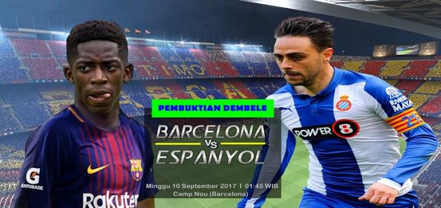 Barcelona vs Espanyol 10 September 2017