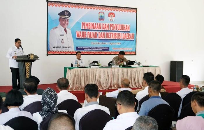 BPPRD Lamsel Adakan Pembinaan Dan Penyuluhan Wajib Pajak dan Retribusi Daerah Demi Optimalisasi PAD.