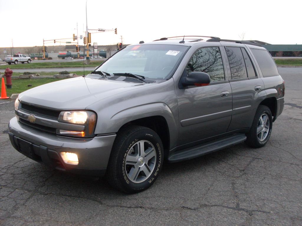 2011 Chevrolet Silverado 1500 Crew Cab >> Ride Auto: 2005 Trailblazer grey