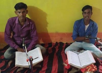 गांव की सुख, शांति के लिए 10 वर्षों से चल रहा अखंड रामायण पाठ