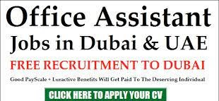 Office Assistant Cum Office Girl/ Boy Recruitment in Advertising Company Dubai