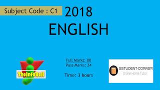 English 2018 Question Paper Fully Solved | SEBA | HSLC | Assam | Class 10